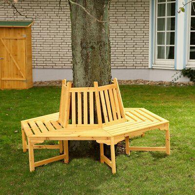 360 Grad Baumbank Gartenbank Rundbank Sitzgruppe Gartenm Ouml Bel Holz Neu In 2021 Holzbank Garten Gartenbank Baumbank
