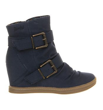 Buy Navy Canvas Blowfish Tugo Wedge Sneaker from OFFICE.co.uk.