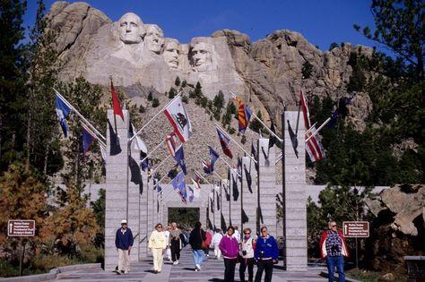 Parco Nazionale del Mount Rushmore South Dakota Black Hills  Memorial di Presidenti americani - Cerca con Google