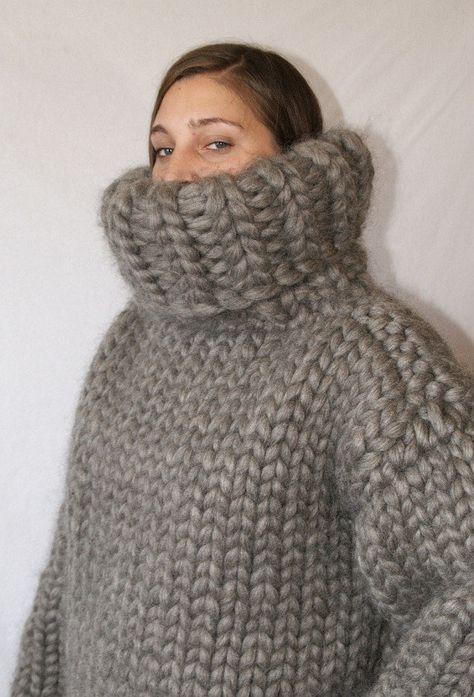 8 kg Rollkragenpullover Monster grobstrick Gotland Schafwolle Strickpullover Wollpullover gestrickter Pullover für Männer Strickolino von Strickolino auf Etsy
