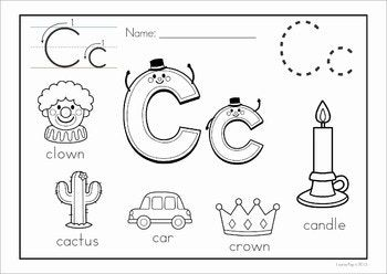Alphabet Coloring Book And Posters Alphabet Worksheets Kindergarten Alphabet Preschool Alphabet Coloring Pages