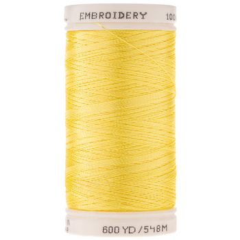 1795 Yellow Polyester Embroidery Thread In 2020 Embroidery