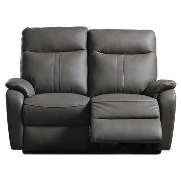 Canapé de relaxation électrique 2 places NLK Coloris gris