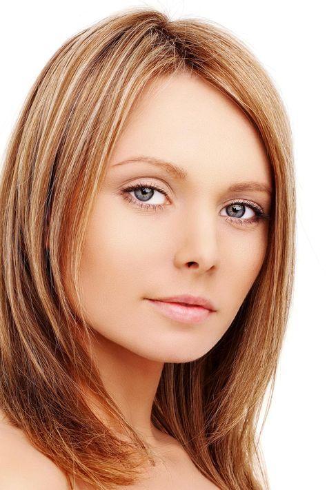 Frisuren schulterlange haare mit tiefem seitenscheitel