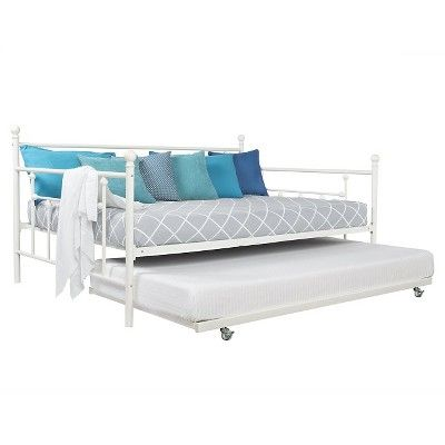 Room Joy Milan Daybed And Trundle Metal Daybed Full Daybed