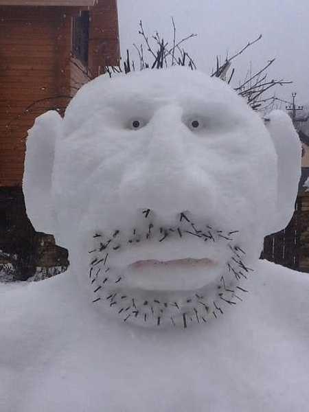 creative ideas for when it snows