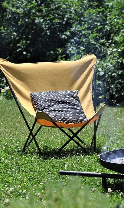 Lafuma Pop Up Xl Design Sessel Stahl Airlon Schwarz Curry Moderne Gartenmobel Gartenstuhle Pop Up
