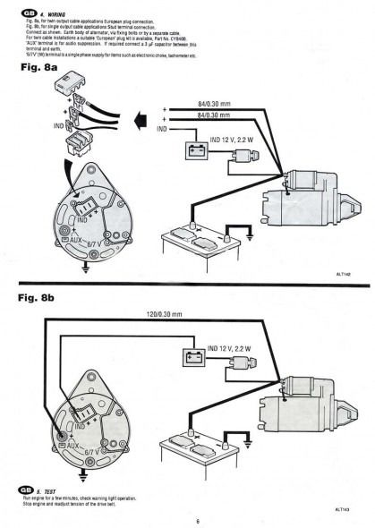Prestolite Alternator Wiring Diagram Marine Alternator Car