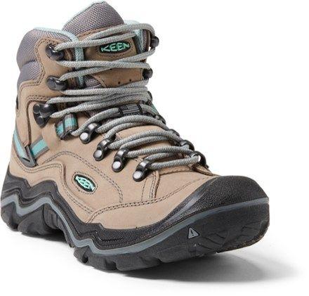 Womens Durand II Mid WP Keen Waterproof Hiking Boots