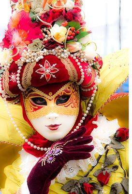 The Carnival of Venice (Italian: Carnevale di Venezia) is an annual festival, held in Venice, Italy. The Carnival ends with Lent, forty days before Easter on Shrove Tuesday (Fat Tuesday or Martedì Grasso), the day before Ash Wednesday.