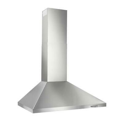 Details About Broan 30 In Convertible Stainless Steel Wall Mounted Range Hood Common 30 In 2020 Steel Wall Broan Range Hood