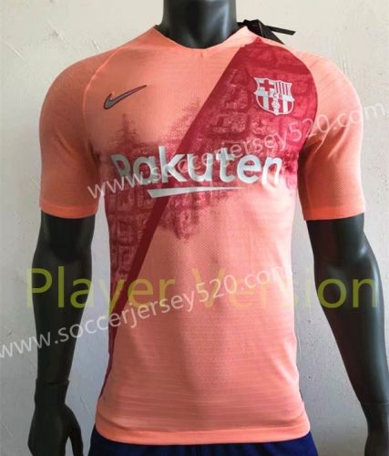 Player Version 2018 19 Barcelona 2nd Away Pink Thailand Soccer Jersey Aaa Soccer Jersey Club Shirts Football Shirts