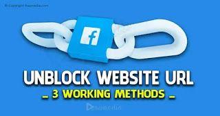 How To Unblock Website Url Blocked By Facebook Website Blocks Facebook
