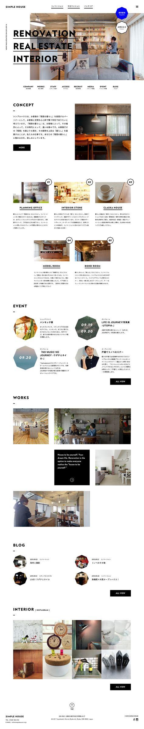 SIMPLE HOUSE #webdesign #simple