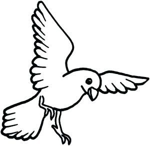 Flying Bird Coloring Pages Bird Coloring Pages Coloring Pages
