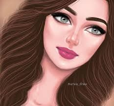 بنات كيوت رسم رسومات كانها حقيقة Cartoon Girl Images Sarra Art Cute Girl Drawing