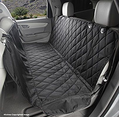 Amazon Com 4knines Dog Seat Cover With Hammock For Cars Trucks And Suvs New Waterproof Seat Bottom U Dog Hammock For Car Pet Seat Covers Dog Seat Covers