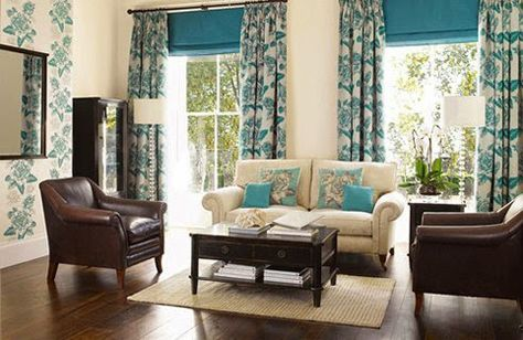 Latest Tips For Curtains In Country Style Curtains Country Style Ideas Curtains Brown Living Room Decor Brown Living Room Blue And Cream Living Room