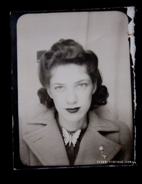 vintage mystery woman.  Such a beautiful example of real vintage beauty.  No idea who she is, was, but she is stunning.