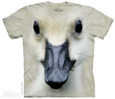 Big Face Baby Duck T-Shirt at theBIGzoo.com, an animal-themed store established in August 2000.