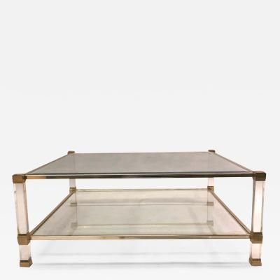 large square french midcentury double