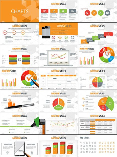 Taxes and Accounting PowerPoint charts   ImagineLayout.com