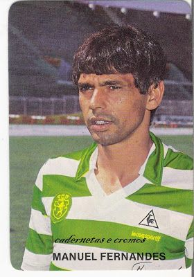 Manuel Fernandes O Meu Nº 9 Sporting Clube De Portugal