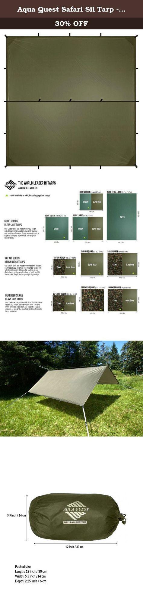 Chinook Guide Silicone Tarp