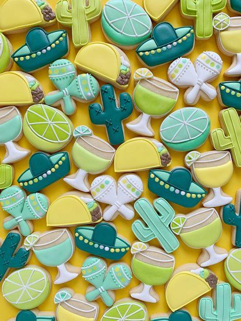 Mini Fiesta Cookie Cutters Set of 6 Disney Cookies, Owl Cookies, Mini Cookies, Fancy Cookies, Iced Cookies, Cupcake Cookies, Frosted Cookies, Cupcakes, Sugar Cookie Royal Icing