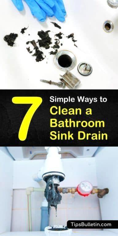 Pin By Kirk Earls On Cleaning In 2020 Bathroom Sink Drain Sink Drain Unclog Sink