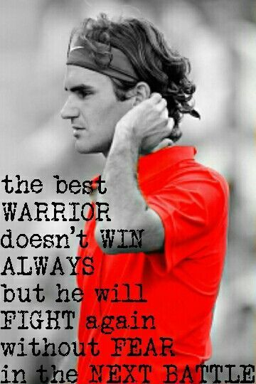 Roger Federer Tennis Player Quote Tennis Quotes Roger Federer Quotes