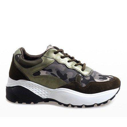Zielone Modne Obuwie Sportowe Moro Lt013 Black Sports Shoes Casual Sport Shoes Sports Shoes