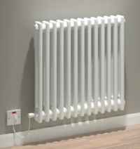 Kudox Electric Column Radiator Evora - White