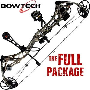 345 FPS! Bowtech Realm-X, THE BIG PACKAGE, Full Pro-Shop