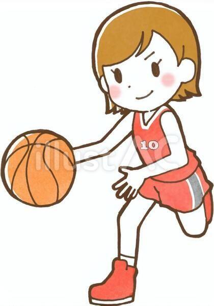 イラスト No 548355 無料イラストなら イラストac 2021 イラスト バスケットボール イラスト フリー素材 イラスト