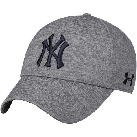 Men s New York Yankees Under Armour Heathered Gray Twist Closer Performance  Snapback Adjustable Hat 0a5d66dd9b1