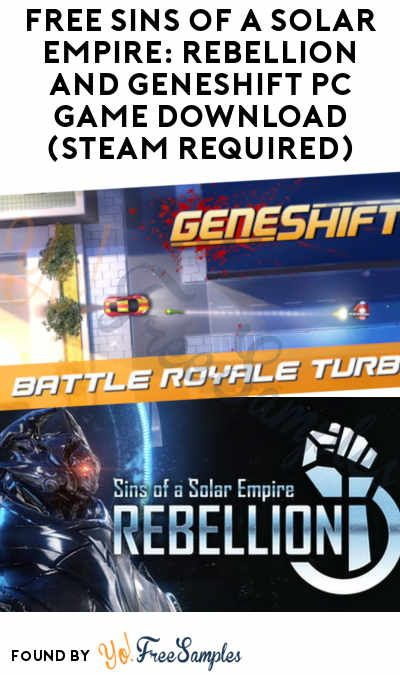 Free Sins Of A Solar Empire Rebellion And Geneshift Pc Game
