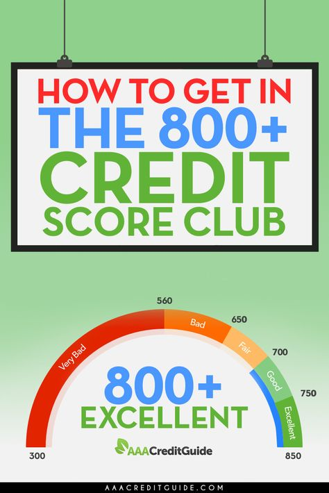 There is pretty much nothing in life that you can't get with an 800+ credit score. Learn what it takes to get into the exclusive 800+ Credit Score Club.