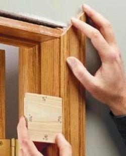 Door Reveal Jig Door Reveal Jig Homemade Woodworking Tools Pinterest Doors Used Woodworking Tools Trim Carpentry Woodworking