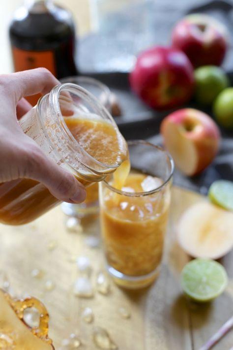 Apple SNAP Cocktail by JoyTheBaker.com