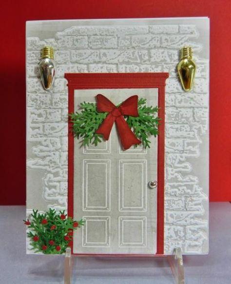 Днем рождения, дверь открытка