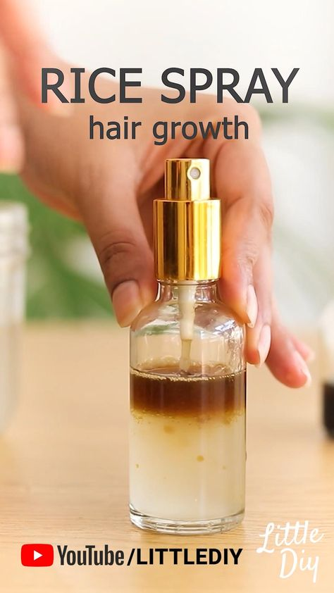 RICE WATER SPRAY FOR HAIR GROWTH