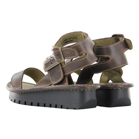 0a8b75953132 Fly london keil dark brown womens sandals vintage fashion jpg 474x474 Dark  brown womens sandals