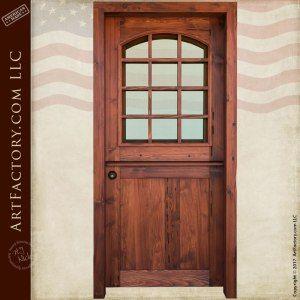 Art Factory Home Custom Solid Wood Doors And Master Handcrafted Furnishings Dutch Doors Exterior Solid Wood Entry Doors Custom Wood Doors