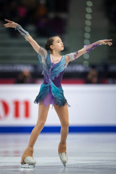 Kamila Valieva Pictures and Photos - Getty Images | Figure skating dresses,  Ice skating dresses costumes, Figure skating costumes