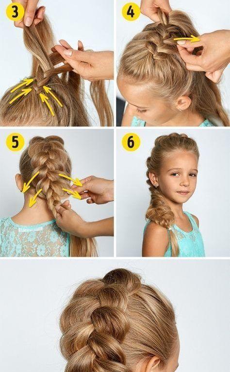 4 Einfache Einfache Und Schnelle Frisuren Fur Die Schule Schnelle Frisuren Fur Die Schule Schnelle Frisuren Frisuren