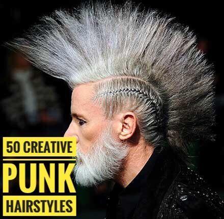 50 Kreative Punk Frisuren Kreative Punkfrisuren Punk Haarschnitt Lange Haare Manner Haar Styling