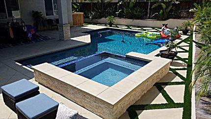 Bay Water Pool Spas Swimming Pool Contractor Pool Builder Corona With Images Pool Contractors Pool Builders Spa Pool
