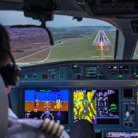 cockpit Слетал сегодня...