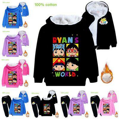 Ryan/'s World Hoodie Birthday Gift Toys Review Christmas Boy Girl Kids Hoody